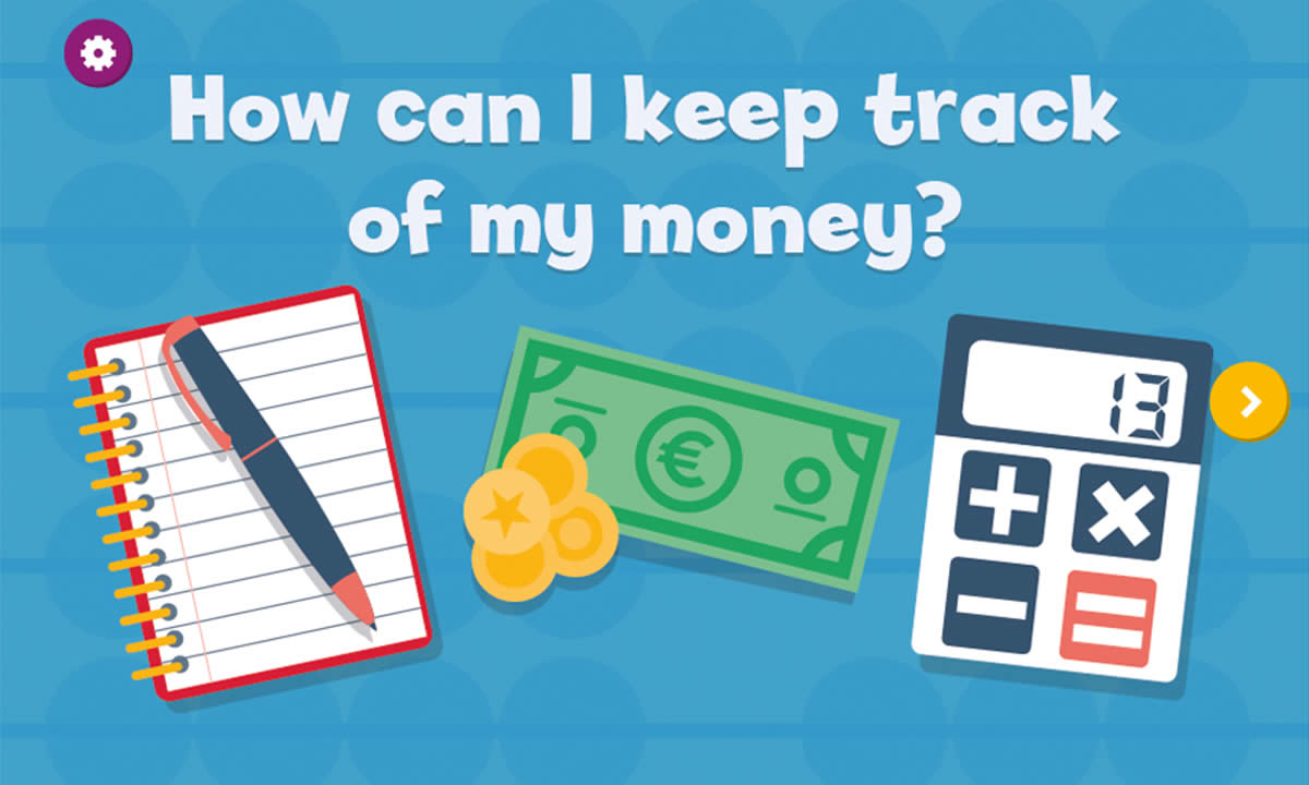 Interactive resource for How can I keep track of my money?
