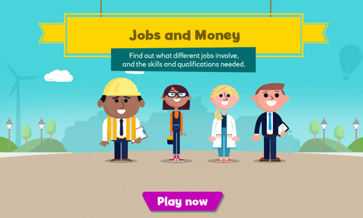 Interactive activity for What are the links between jobs and money?