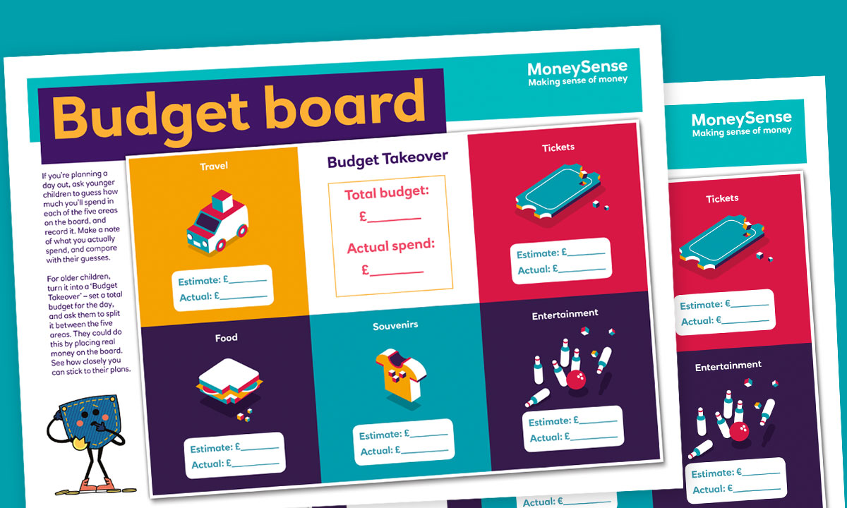 Budget board poster