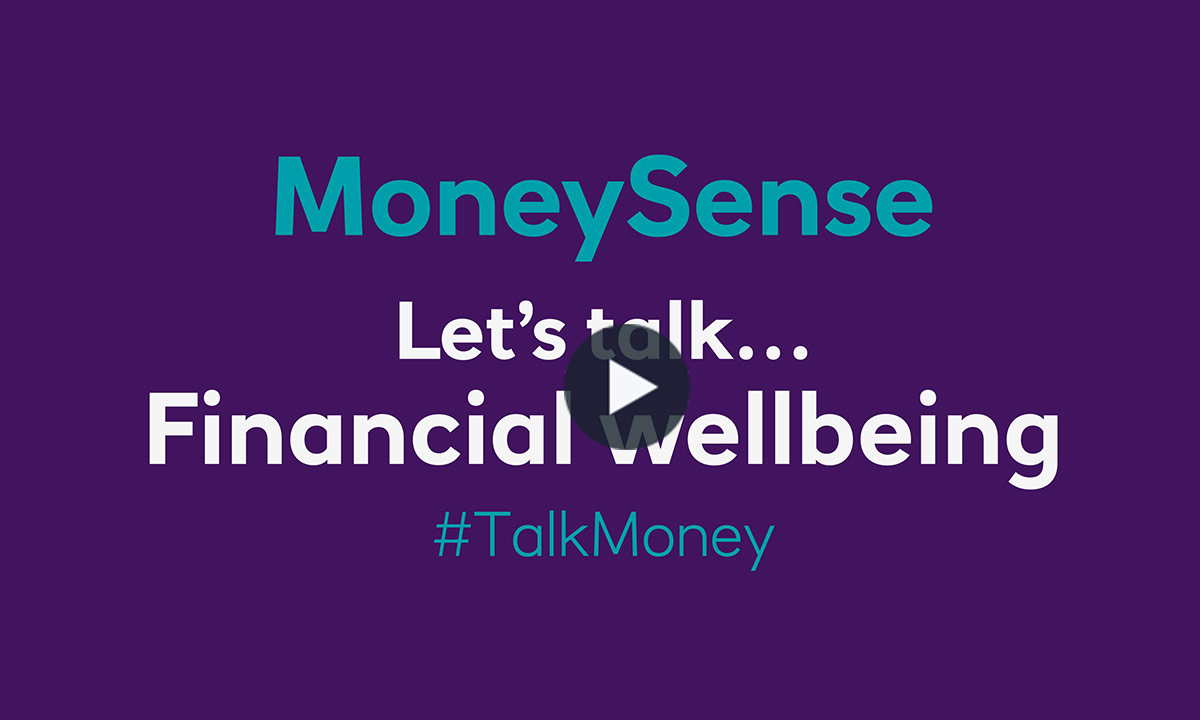 Let's talk...Financial wellbeing